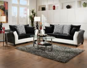 featured friday zigzag sofa loveseat set american freight