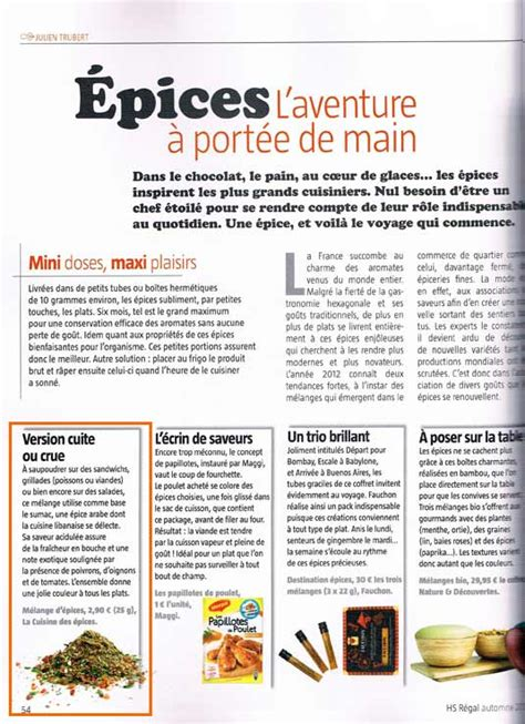 article de cuisine montreal epices et régime meilleur allié des cuisines légères