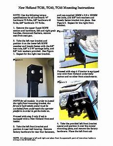 New Holland Tc35da Tc40da Tc45da Boxer Parts List Mounting
