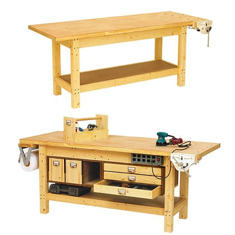 roll up table plans basic workbench and 6 ways to beef it up woodworking plan