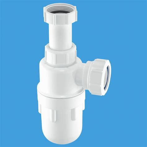 McAlpine 1.1 4 Adjustable Basin Bottle Trap A10A