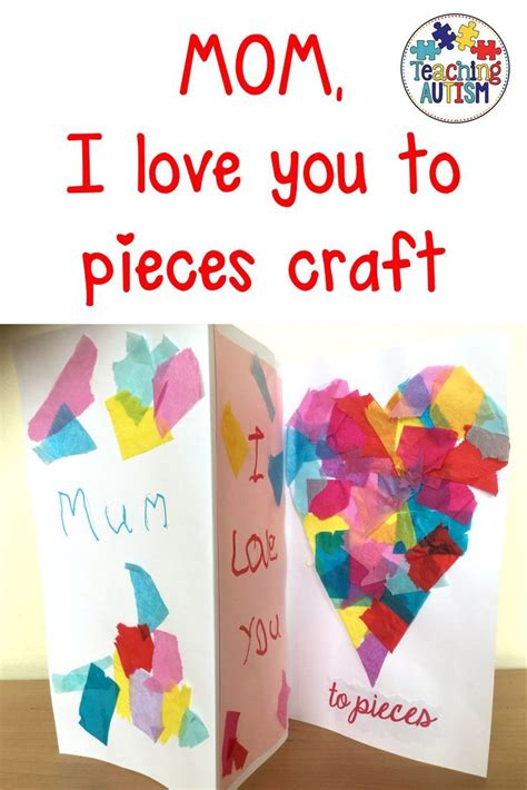mothers day card  love   pieces mothers day