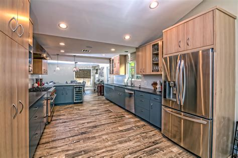 Kitchen Cabinet Wine With Kitchen Transitional And Los
