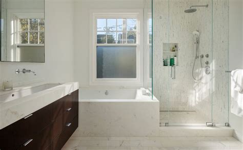 Shower Niche Height - how to make shower niches work for you in the bathroom
