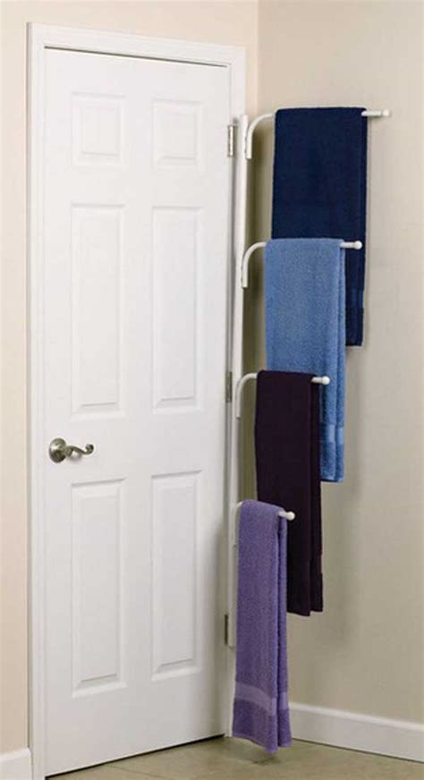 bathroom towel holder ideas 32 of the most genius diy projects to keep bath towels organized amazing diy interior home