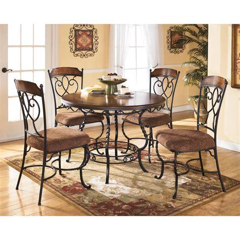 signature design  ashley nola  piece  dining table