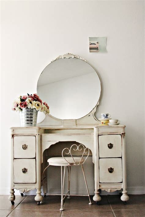 Shabby Chic Makeup Vanity Table - 2039 best the dressing table images on bedroom