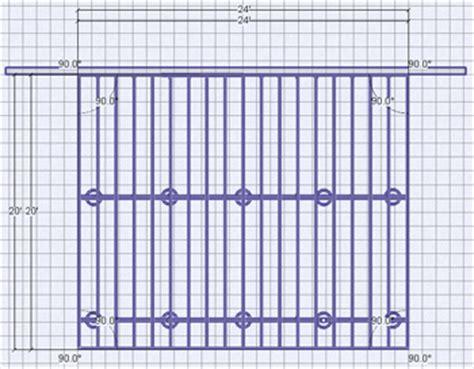 Deck Plan 12 by Woodwork 12x24 Deck Plans Pdf Plans