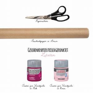 Gut Deckende Wandfarbe : geschenkpapier frisch gepunktet ~ Watch28wear.com Haus und Dekorationen
