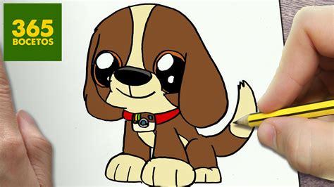 como dibujar perro instagram kawaii paso a paso dibujos kawaii faciles animales
