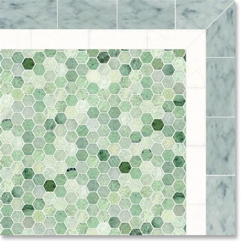 Splashback Ideas White Kitchen - best kitchen floor material hexagon design ming green marble tile and also awesome tips
