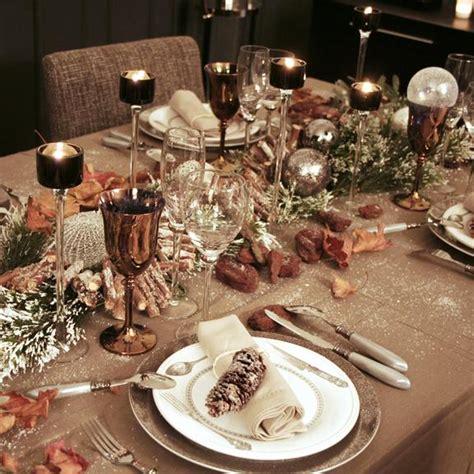 Decoration De Table Pour Noel D 233 Co De No 235 L Comment Dresser Une Table Pour Les