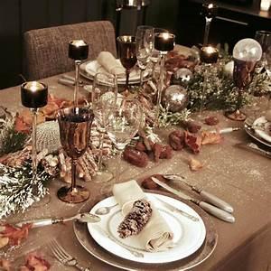 Decoration De Noel Table : d co de no l comment dresser une belle table pour les ~ Melissatoandfro.com Idées de Décoration