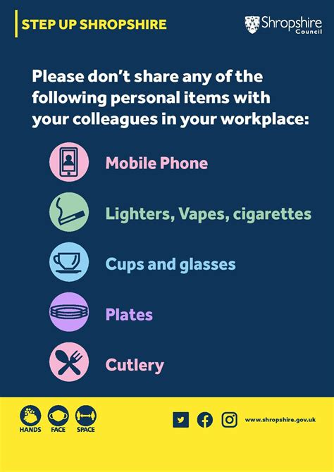 Coronavirus: Staying safe in the workplace - Shropshire ...