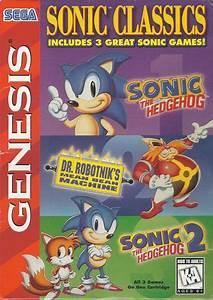Sonic Classics Box Shot For Genesis Gamefaqs