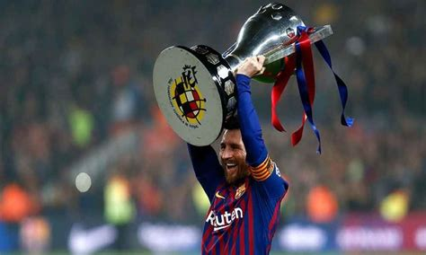 Soccer: Messi increases iconic status at Barcelona with ...