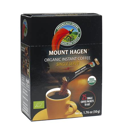 Coffee mount hagen is the only organic or biologically pure soluble coffee market. Mount Hagen Organic Instant Coffee, Single Serve Sticks | Instant coffee, Single serve coffee ...