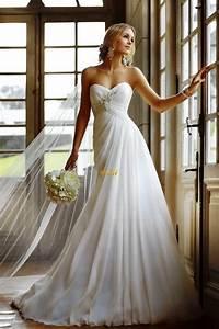 Beautiful Long Strapless Wedding Dresses Dresscab