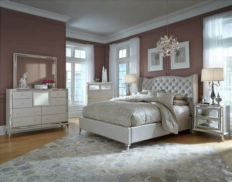 Bedroom Decorating Ideas Upholstered Bed by Decoration Upholstered Bedroom Sets For