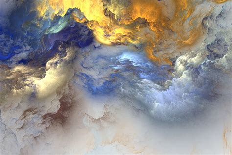 colorful clouds abstract wallpaper art full hd desktop