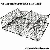 Fish Trap Wire Collapsible Crab Traps Fishing Basket Folding Cheap Larger Alibaba sketch template