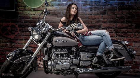 wallpaper women model bicycle motorcycle canon