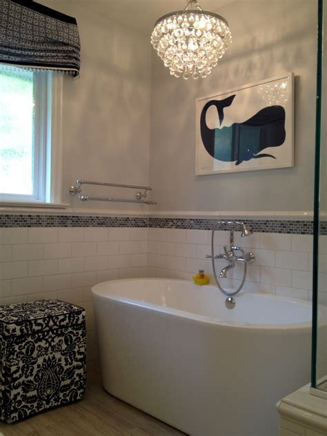 shower lighting ideas Bathroom Transitional with bubble