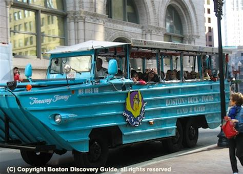 Boston Boat Tours by Boston Duck Tours Sightseeing Tour Boston Discovery Guide