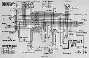 Honda Cb Cl175  K7  Wiring Diagram  61645