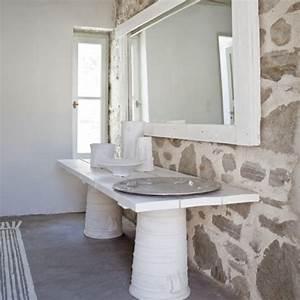 la maison de la designer paola navone en grece marie With tapis de gym avec canapé paola navone