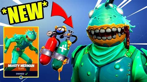 *new* How To Get The Moisty Merman Free! (fn Battle Royale