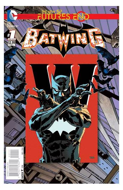 End Futures Covers Exclusive Dc Batwing Week