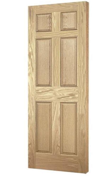 doors at menards mastercraft oak 6 panel interior door only at menards 174