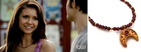 elena gilbert actress nina dobrev wears jewelry