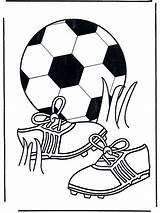 Football Coloring Pages Soccer Funnycoloring Advertisement sketch template