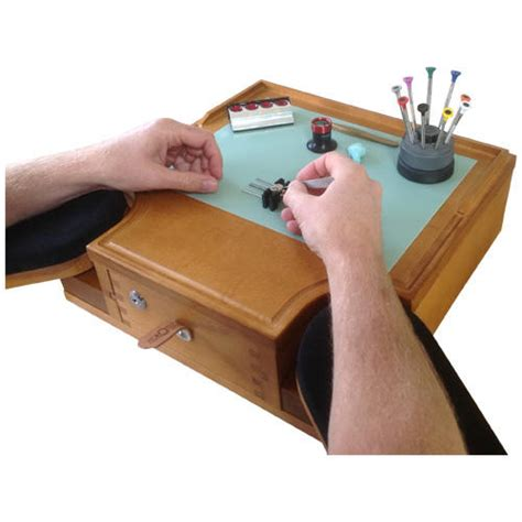horotec watchmakers mini bench table top design