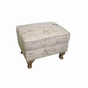Repose Pied Salon : repose pieds baroque en tissu pouf l 39 esprit classique ~ Teatrodelosmanantiales.com Idées de Décoration