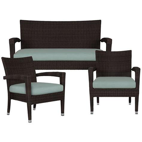 city furniture zen teal outdoor living room set