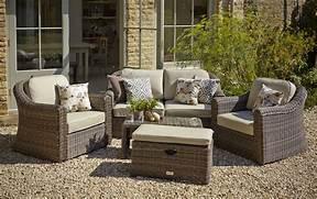 Garden Dining Sets Asda by Hartman Semerang Birch Lounge Set With Weather Ready Cushions HSEMWRSET06