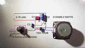 Tda 7052b Full Wiring Diagram  Easy To Understand