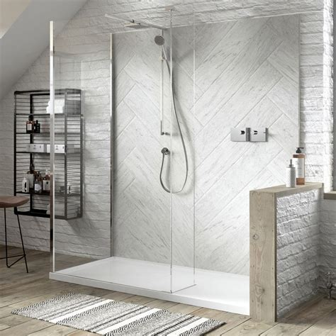 Matki Boutique Walk In Corner Shower Enclosure : UK Bathrooms