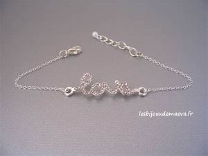 bracelet fantaisie mariage love strass With bijoux fantaisie mariage strass