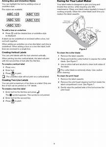Dymo Label Maker 160 Instructions