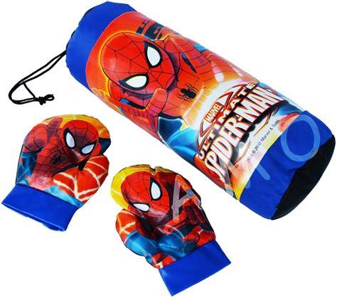 jual samsak spidermen besar mainan anak sarung tinju di