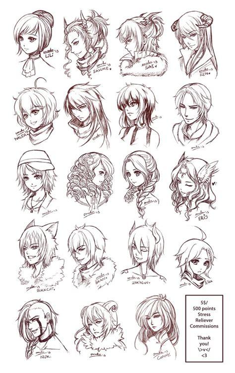 pin  wishwork art  drawing hair haare zeichnen