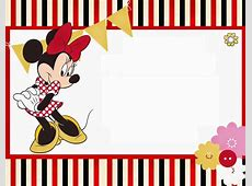 Divertidos Imprimibles Gratis de Minnie Mouse Rojo