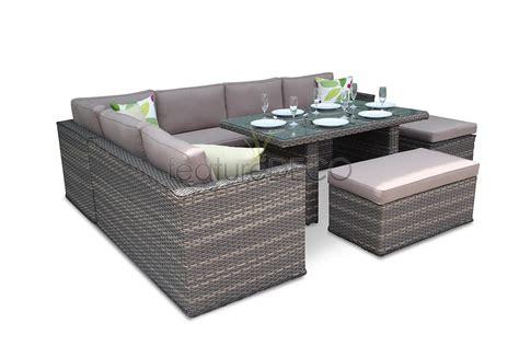 Sofa Dining Set by Brantwood Rattan Corner Sofa Dining Modular Furniture Set