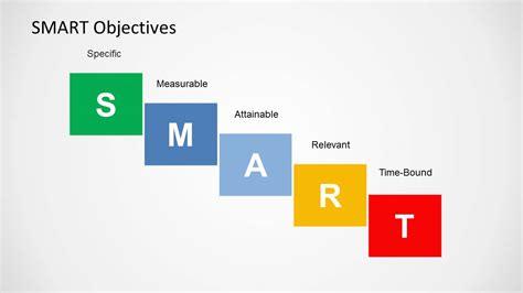 smart objectives  design  powerpoint slidemodel