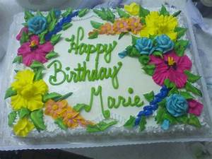 Happy Birthday Marie - CakeCentral com