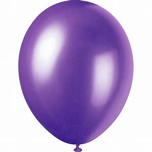 Purple Balloons Party Favors Ideas